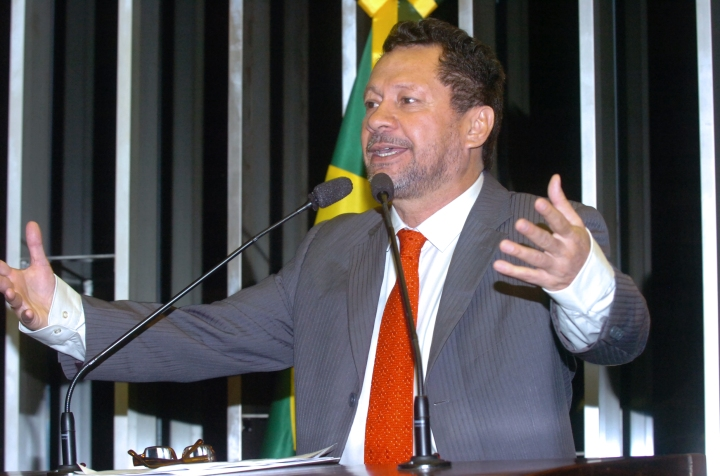 Senador petista João Pedro, do Amazonas. Foto de J. Freitas.