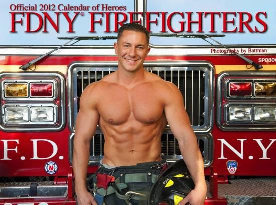2012 - FDNY - Calendar of Heroes.