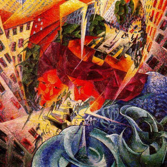 Visioni simultanee (Visões simultâneas, 1912)