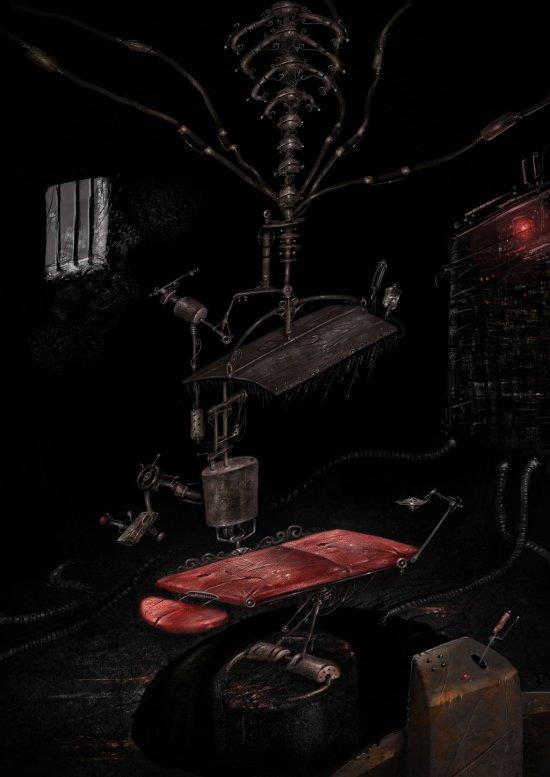 Imagem 3D de Antonio Cavalcante inspirada no conto