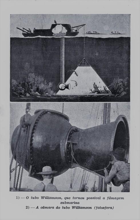John Williamson - Vinte anos debaixo do mar. Fotoesfera para filmar 'Vinte mil léguas submarinas' (1916)..jpg