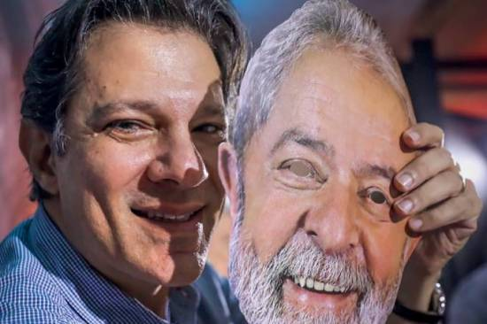 Haddad-Lula. Foto de Ricardo Stuckert - Instituto Lula.